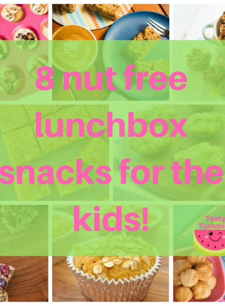 8 nut free lunchbox snacks for the kids
