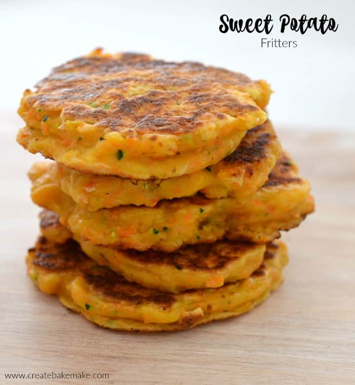 Sweet Potato Fritter Recipe