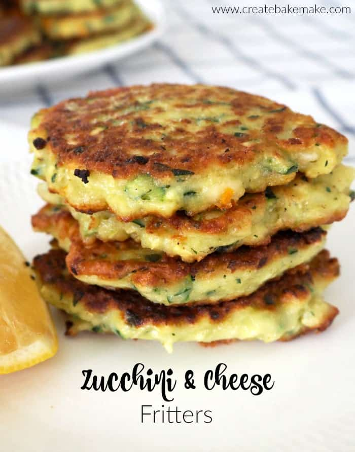 Easy Zucchini Fritter Recipe